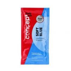Concept, Порошок для осветления волос (Soft Blue Lightening Powder), 30 г
