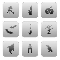 Airnails, Трафареты CL 22, «Хэллоуин»