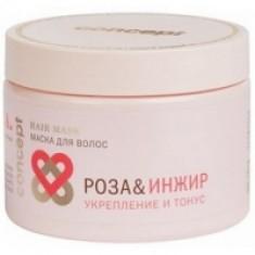 Concept Spa Power Tonus Hair Mask - Маска для волос укрепление и тонус, Роза и инжир, 350 мл Concept (Россия)