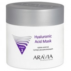 Aravia Professional Hyaluronic Acid Mask - Крем-маска супер увлажняющая, 300 мл Aravia Professional (Россия)