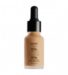 NYX PROFESSIONAL MAKEUP Тональная основа Total Control Drop Foundation - Classic Tan 12