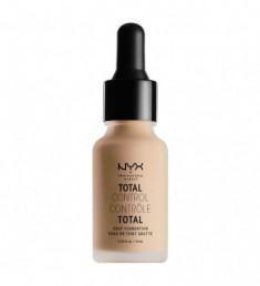 NYX PROFESSIONAL MAKEUP Тональная основа Total Control Drop Foundation - Natural 07