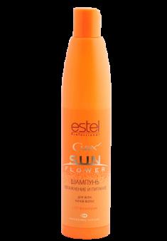 ESTEL PROFESSIONAL Шампунь увлажнение и питание с UV-фильтром / Curex Sunflower 300 мл