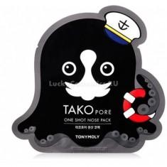 Tony Moly Tako Pore One Shot Nose Pack