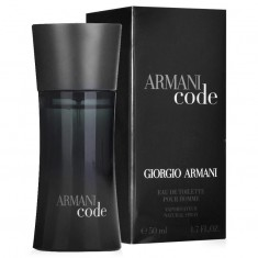 GIORGIO ARMANI CODE вода туалетная мужская 50 ml