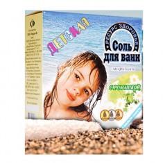 Соль Морская для ванн детская коробка Ромашка 1кг (4 фильтр-пакета)