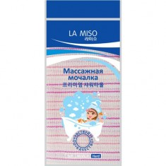 La Miso Towel HAD-05 Массажная мочалка зеленая жесткая HARD