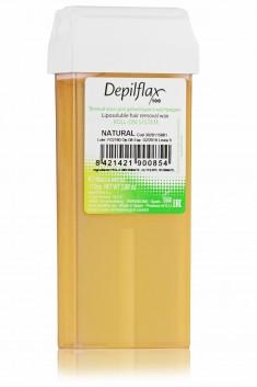 DEPILFLAX 100 Воск для депиляции в картридже, натуральный 110 г