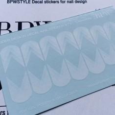 BPW.Style, Слайдер-дизайн «Геометрия» №6-71w, белый градиент