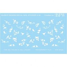 BPW.Style, Слайдер-дизайн «Белые птицы» №3-30