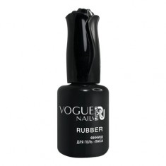 Vogue Nails, Топ Rubber, 18 мл
