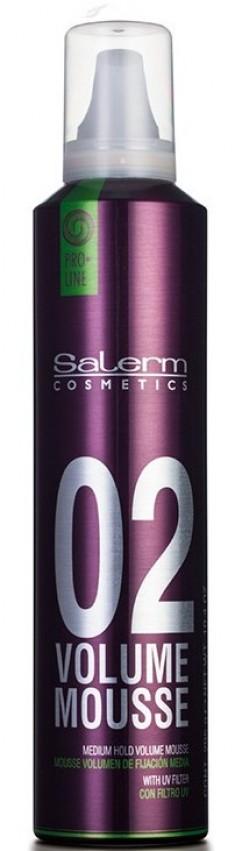 SALERM COSMETICS Мусс объем для волос / VOLUME MOUSSE PRO-LINE 300 мл