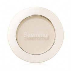 Тени для век мерцающие THE SAEM Saemmul Single Shadow Shimmer WH01 2гр