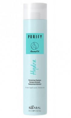 Шампунь увлажняющий для сухих волос Kaaral Purify-Hydra Shampoo 250 мл