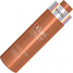 бальзам-сияние для окрашенных волос color life otium 1000мл Estel Professional
