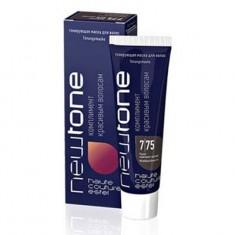 тонирующая маска для волос estel newtone 7/75 русый красно-фиолетовый 60 мл. Estel Professional