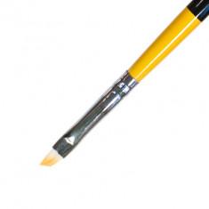 IRISK PROFESSIONAL Кисть скошенная для геля, искусственный ворс № 3