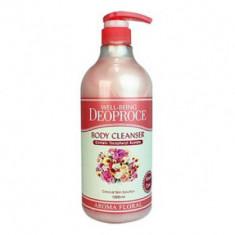 Гель для душа цветочный DEOPROCE WELL-BEING AROMA BODY CLEANSER FLORAL 1000мл