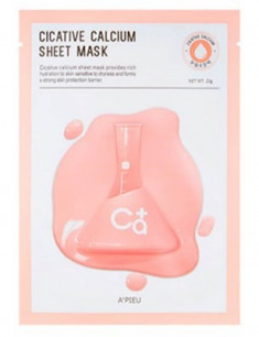 Тканевая маска с кальцием A'PIEU Cicative Calcium Sheet Mask