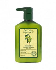 Шампунь для волос и тела CHI OLIVE ORGANICS 340мл