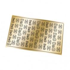 Freedecor, Металлизированные наклейки №181, золото