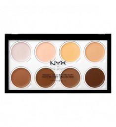 NYX PROFESSIONAL MAKEUP Кремовая палетка для контурирования Highlight & Contour Cream Pro Palette 01