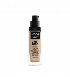 NYX PROFESSIONAL MAKEUP Тональная основа Can't Stop Won't Stop Full Coverage Foundation Light Ivory 04