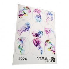 Vogue Nails, Слайдер-дизайн №224