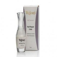 Trind, Укрепитель для ногтей Repair, белый перламутр, 9 мл