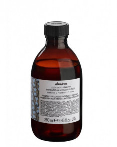 "Шампунь Davines ALCHEMIC SHAMPOO for natural and coloured hair , ""АЛХИМИК"" для натуральных и окрашенных волос табак 280мл"