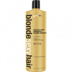 Шампунь для сохранения цвета блонд SEXY HAIR Bombshell Blonde Shampoo 1000мл