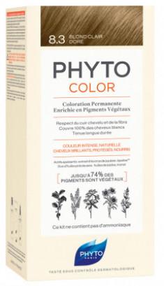 Краска для волос Phytosolba Phyto COLOR 8.3 Светлый золотистый блонд