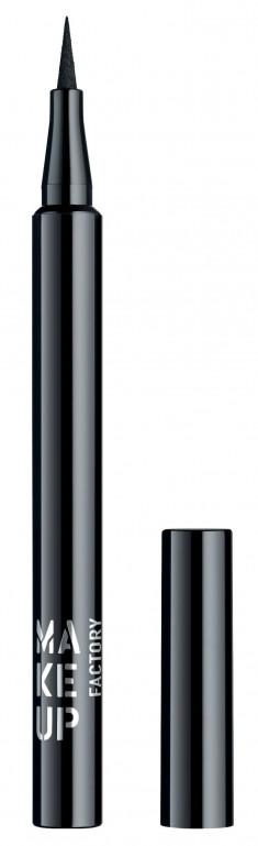 MAKE UP FACTORY Подводка жидкая для глаз, 01 черный / Full Precision Liquid Liner 1 мл