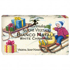 FLORINDA Мыло растительное, рождественский снег / Bianco Natale 100 г