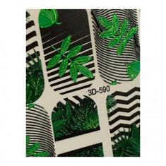 AnnaTkacheva,3D-слайдерCrystal№590 «Листья. Геометрия» Anna Tkacheva