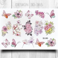 AnnaTkacheva,3D-слайдер№365 «Цветы. Бабочки» Anna Tkacheva