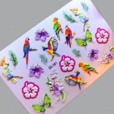 AnnaTkacheva,3D-слайдер№381 «Цветы. Птицы» Anna Tkacheva