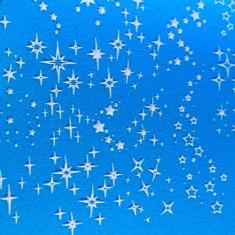 AnnaTkacheva,3D-слайдер№81,белый «Звезды. Звездочки» Anna Tkacheva