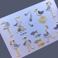 AnnaTkacheva,3D-слайдерHT№134 «Птицы. Чайки» Anna Tkacheva