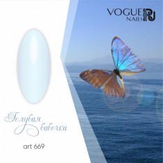Vogue nails, Гель-лак Голубая бабочка