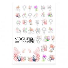 Vogue Nails, Слайдер-дизайн №139
