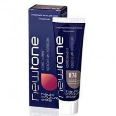 тонирующая маска для волос estel newtone 8/76 светлый русый коричнево-фиолетовый 60 мл Estel Professional