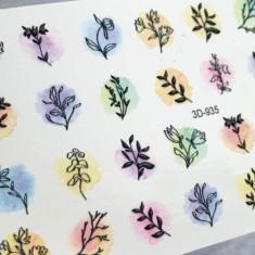 Anna Tkacheva, 3D-слайдер Crystal №935 «Цветы. Веточки»