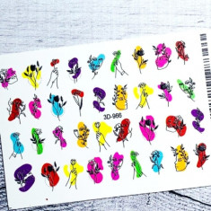 Anna Tkacheva, 3D-слайдер №966 «Девушки. Цветы»