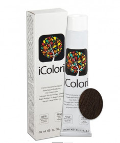 KAYPRO 5.32 краска для волос, светлый бежево-коричневый / ICOLORI 90 мл