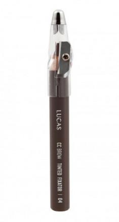 Восковый карандаш для бровей CC Brow TINTED WAX FIXATOR 04 светло-коричневый