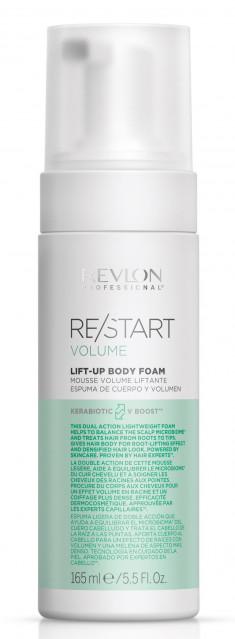 REVLON PROFESSIONAL Пена для объема волос / RESTART VOLUME LIFT-UP BODY FOAM 165 мл