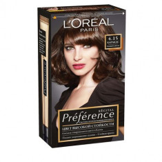 Loreal Preference краска для волос 4.15 Каракас глубокий каштан Loreal Paris