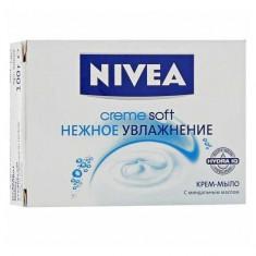Нивея Мыло-уход Soft Нежное увлажнение 100г NIVEA