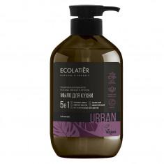 Ecolatier Urban Жидкое мыло для рук Базилик кухонное 600мл